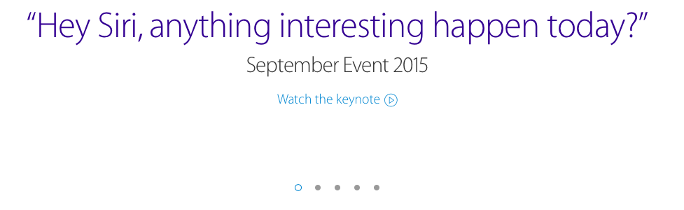 Thoughts/Recap of Apple's iPhone 6S & 6S Plus Event