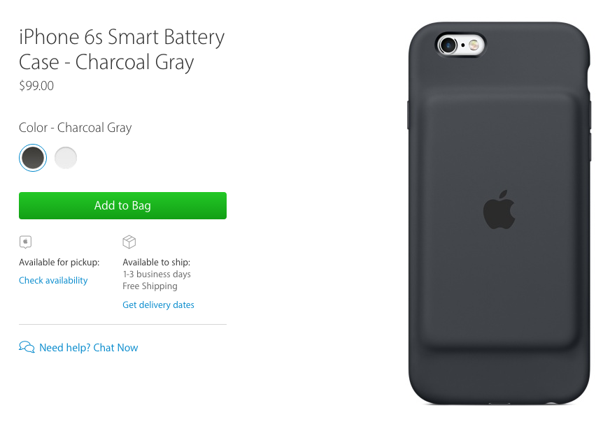 Apple's All New Smart Battery Case