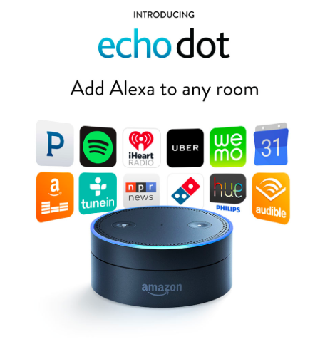 "Amazon's Tap & Echo Dot ""The Portable Alexa's"""