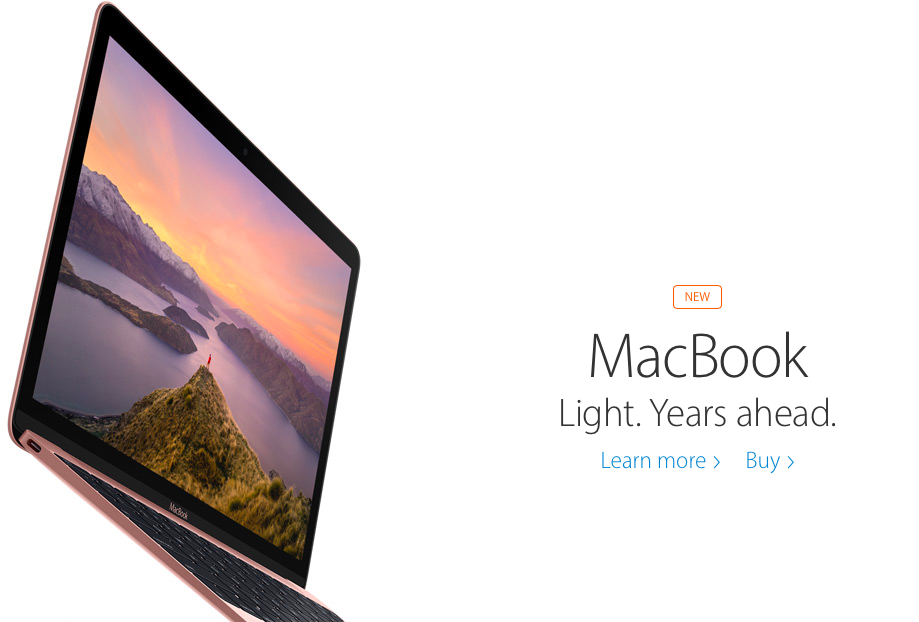 Apple's 2016 Macbook Rose Gold Update